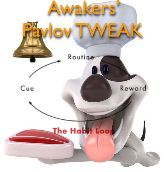 Reversal of Kicking off A Habit 4: OnSleep Habit Loop x OnSleep PAVLOV TWEAK